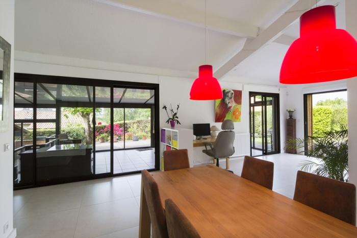 Réaménagement d'une maison d'habitation : salon4