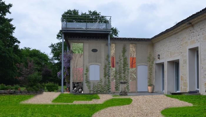 rénovation habitation et locaux professionnels : terrasse suspendue garage.jpg