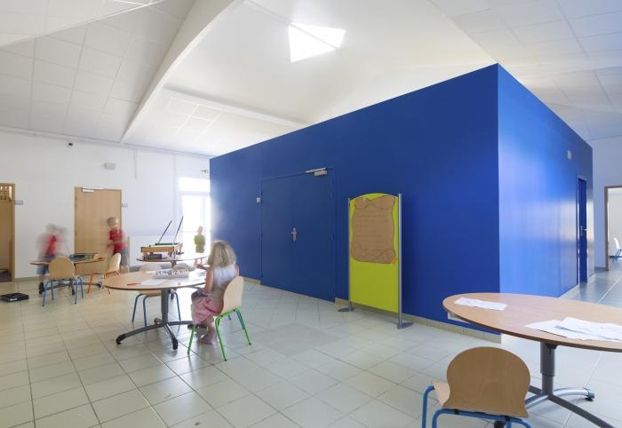 Extension et réaménagement d'un centre de Loisirs : heure du conte