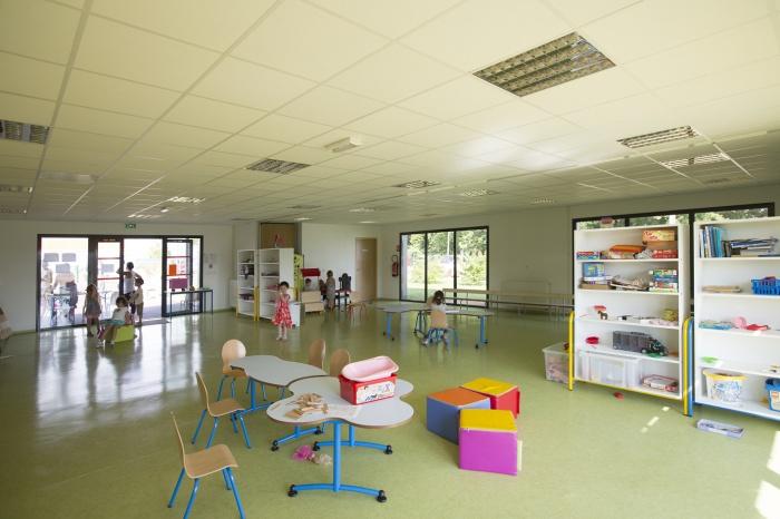 Extension et réaménagement d'un centre de Loisirs : espace modulable