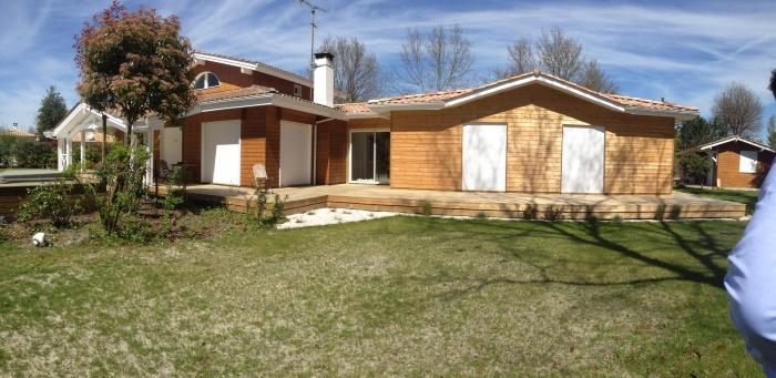 extension et rénovation habitation : 2 facade arrière côté piscine après travaux.jpg