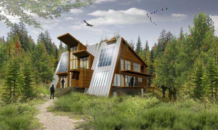 Maison à énergie autonome