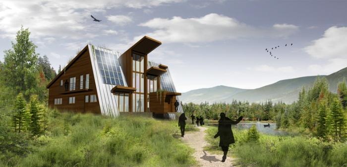 Maison à énergie autonome : Canada 2