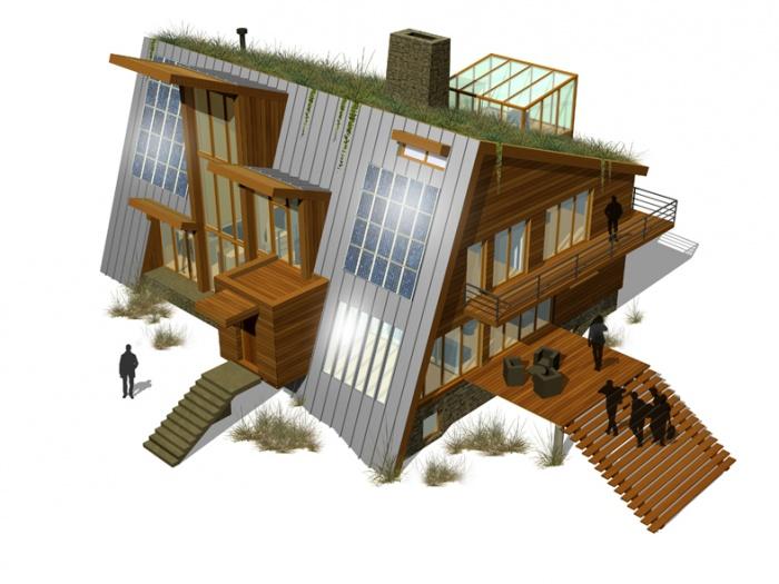 Maison à énergie autonome : Canada 3