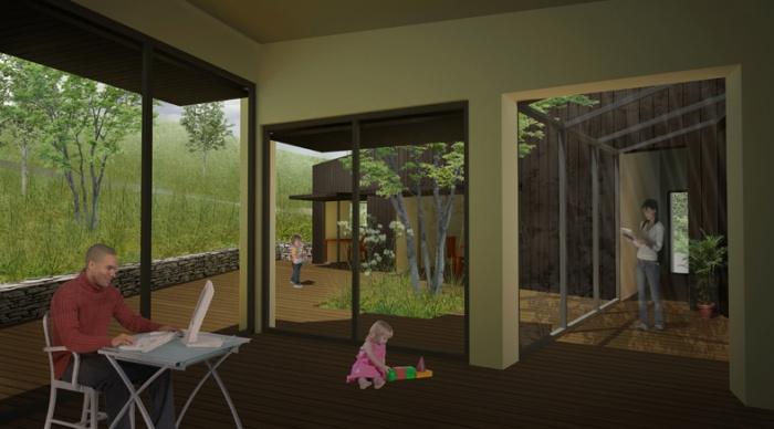 Maison à énergie économe