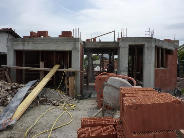 Construction maison contemporaine à Pessac respectant la RT 2012 : PES 3
