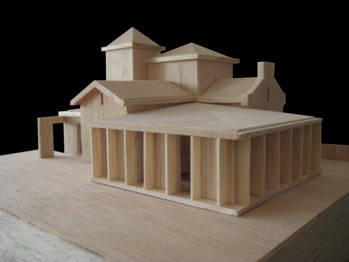 Maison bourgeoise : Maquette
