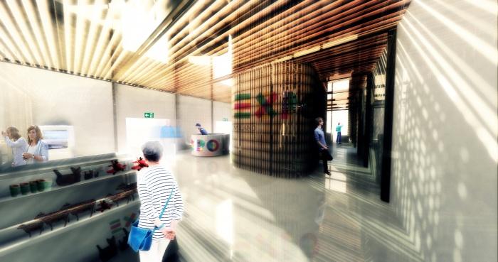 -Pavillon d'accueil - exposition universelle 2015