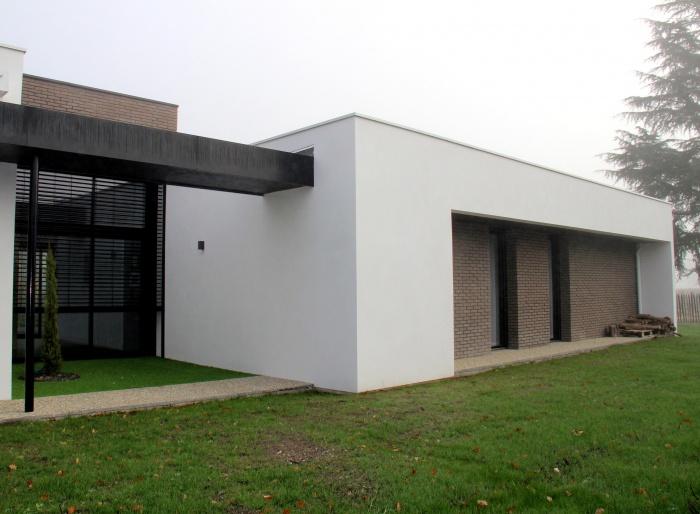 Architectes Construction D 39 Une Maison Individuelle Pessac