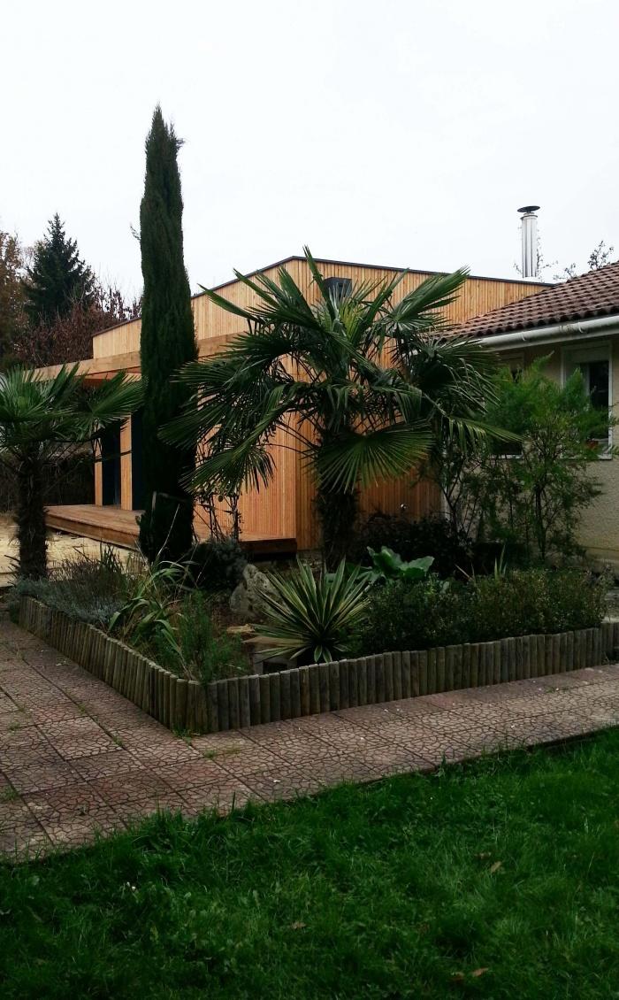 Rénovation et extension bois : 11
