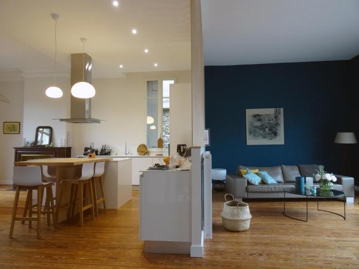 Architectes r novation d 39 un appartement parisien paris - Reportage renovation maison ...
