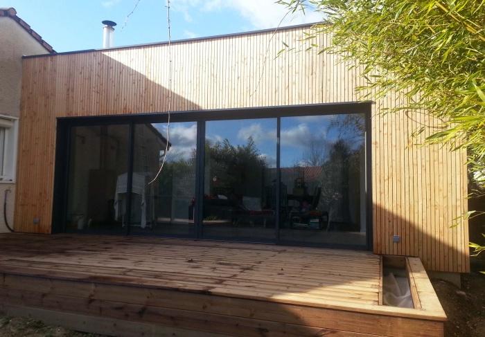 Rénovation et extension bois