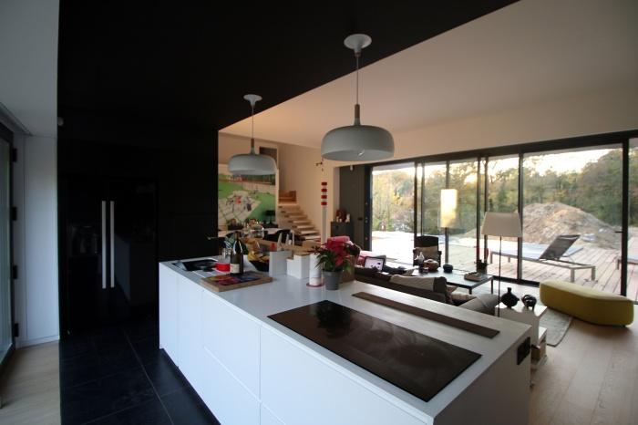 73 maisons ossature acier ou mixte acier bois d 39 architectes. Black Bedroom Furniture Sets. Home Design Ideas