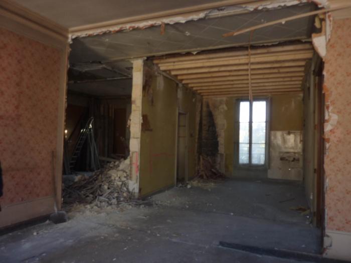 Réhabilitation, surélévation et extension d'un immeuble à Bordeaux : Démolitions 2