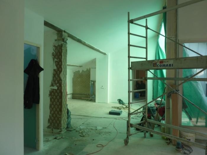 Réhabilitation, surélévation et extension d'un immeuble à Bordeaux : Dernier étage