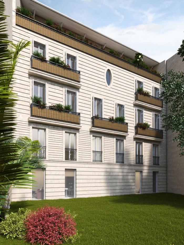 Construction d'un immeuble neuf à Bordeaux