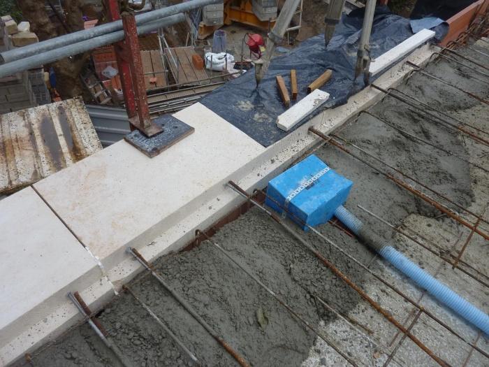 Construction d'un immeuble neuf à Bordeaux : Balcons