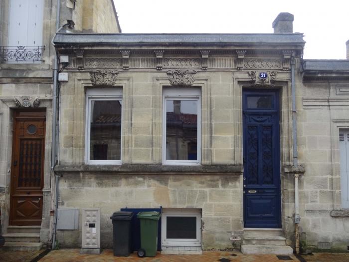 Rénovation et restructuration de façade d'une échoppe de ville
