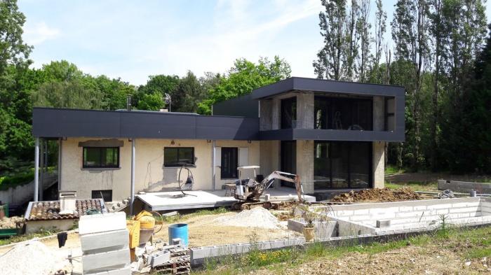 Architectes extension contemporaine et for Architecte bordeaux maison individuelle