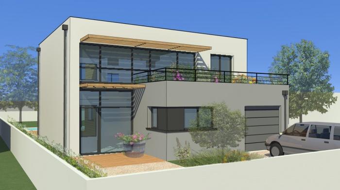 Architectes extension d 39 une maison for Projet construction maison individuelle