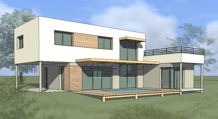Architectes maison individuelle avec dojo for Projet construction maison individuelle