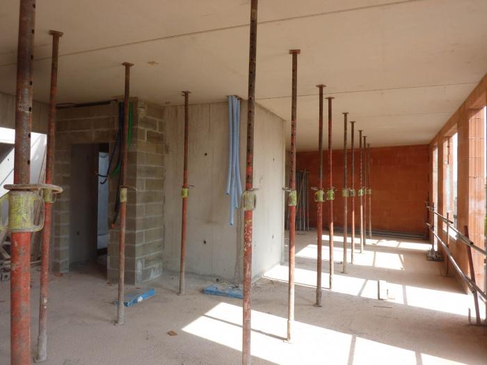 Construction d'un immeuble neuf à Bordeaux : Plancher pré-dalle