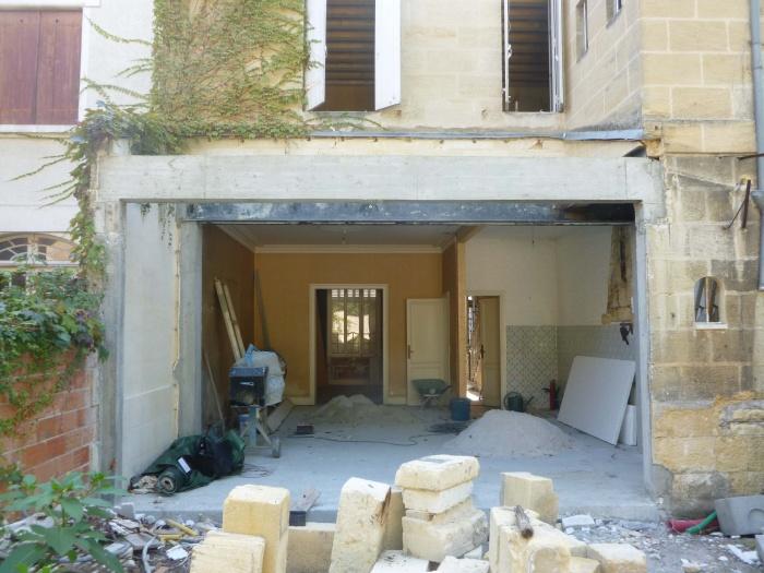 Rénovation complète d'une maison de ville : Agrandissement salon séjour