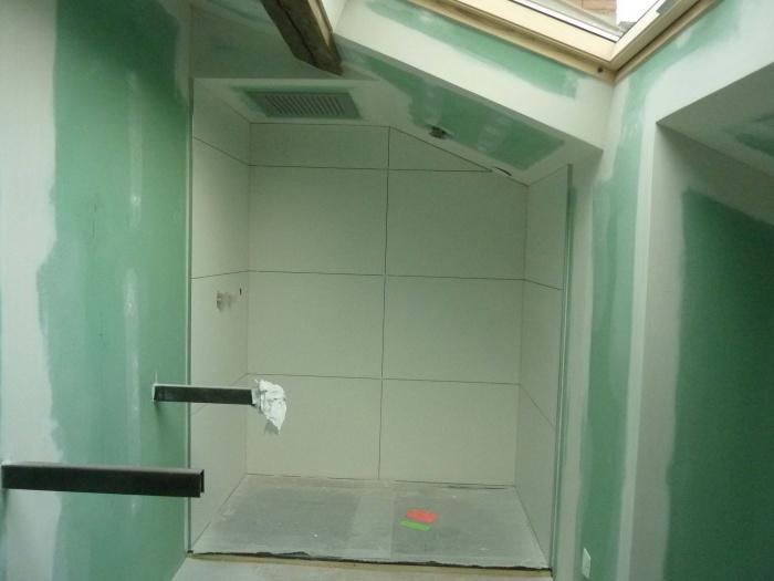 Rénovation complète d'une maison de ville : Salle d'eau R+2