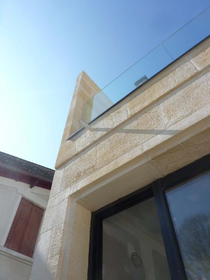 Rénovation complète d'une maison de ville : Rejointement de la façade