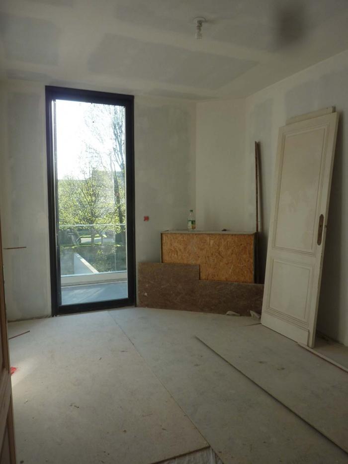 Rénovation complète d'une maison de ville : Chambre R+1