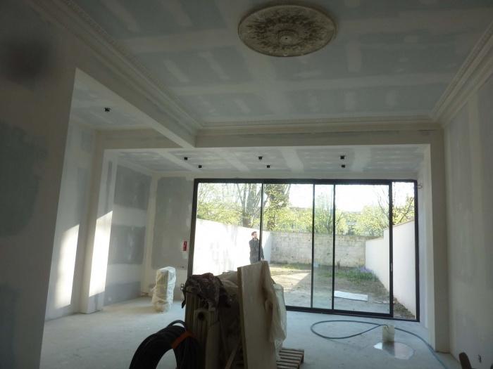 Rénovation complète d'une maison de ville : Salon séjour