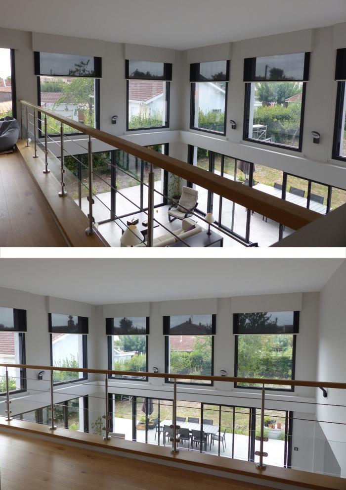 Rénovation d'une habitation et réamenagement interieur
