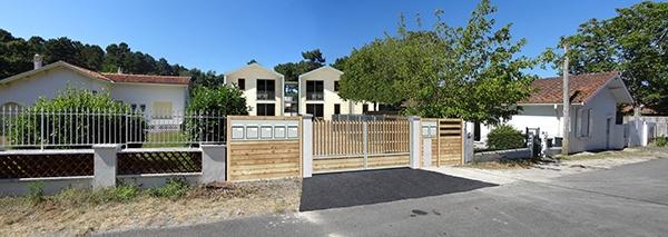 Bâtiments de sept logements résidences saisonnières à Maubuisson : image_projet_mini_91734