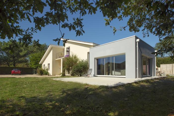 Extension et réaménagement d'une maison d'habitation