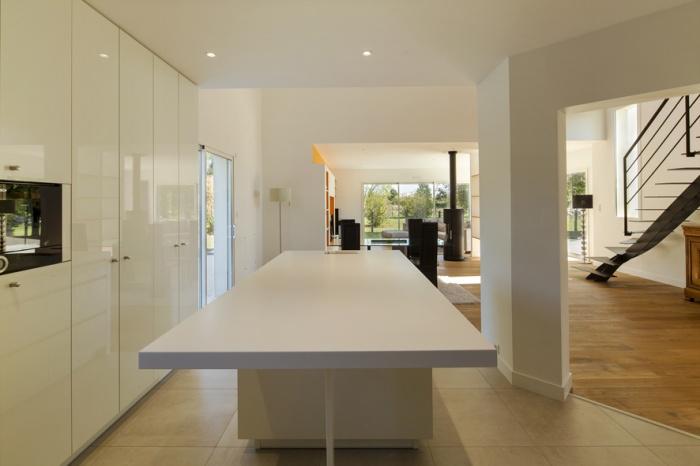 Extension et réaménagement d'une maison d'habitation : cuisine 2