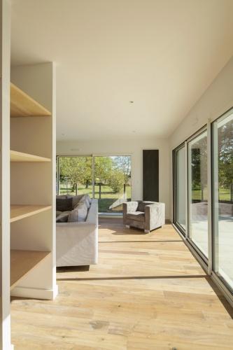 Extension et réaménagement d'une maison d'habitation : rangements