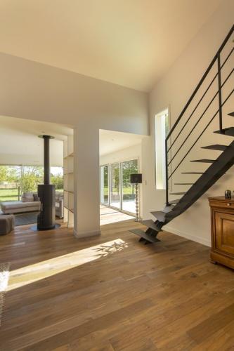Extension et réaménagement d'une maison d'habitation : vue