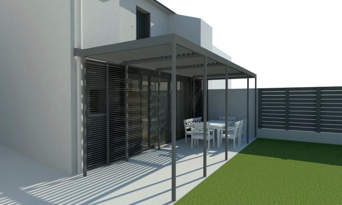 Rénovation et extension d'une échoppe bordeaulaise