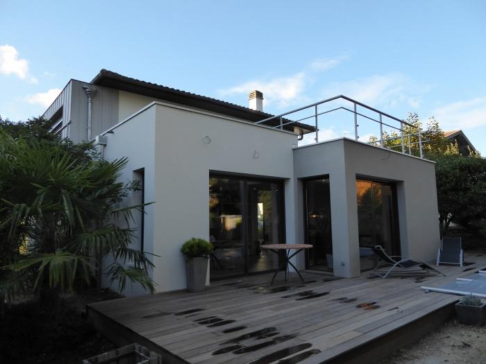 La villa seventies à Gradignan 2016