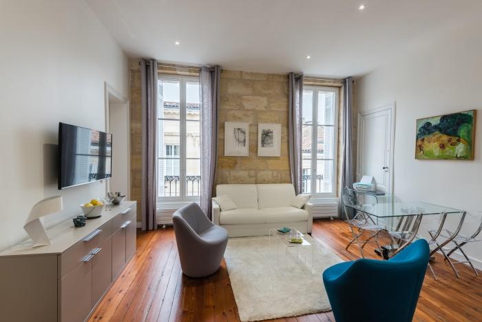 Réhabilitation, surélévation et extension d'un immeuble à Bordeaux : Intérieur logement