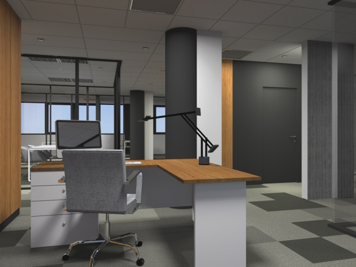 Réaménagement d'un plateau de bureaux seventies à Bordeaux 2017 : v 5.jpg