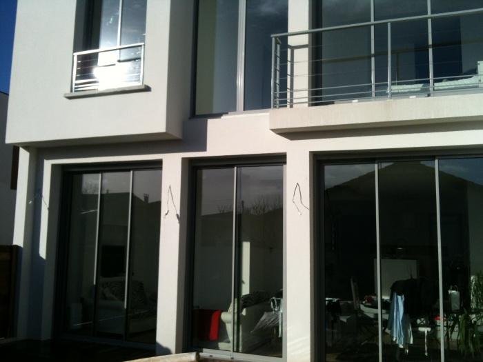 maison darget le bouscat une r alisation de fr d ric etcheberry architecte dplg. Black Bedroom Furniture Sets. Home Design Ideas