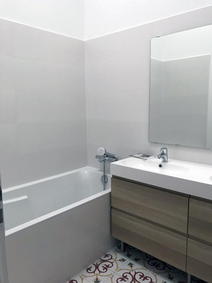 Maison VB : salle de bain enfant