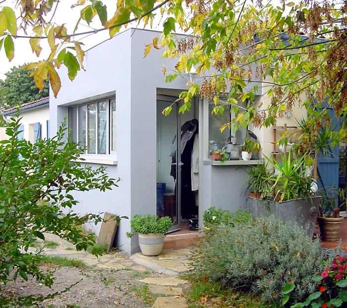 Réaménagement et extension d'une maison au Haillan (33)