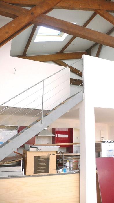 Projet de conversion d'un ancien entrepôt en lofts-duplex (33)
