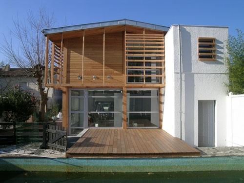 Maison H à Bordeaux rue Latesta (33)