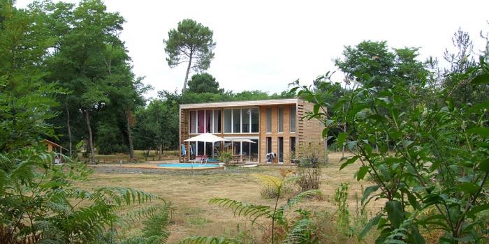 architectes grange landaise landes. Black Bedroom Furniture Sets. Home Design Ideas