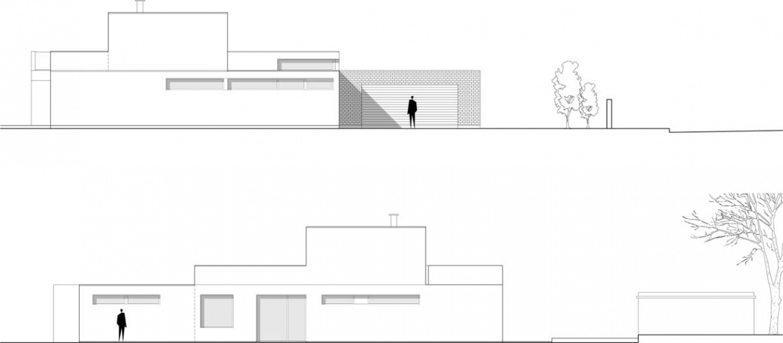 Maison neuve à Villenave d'Ornon : FACADE SN