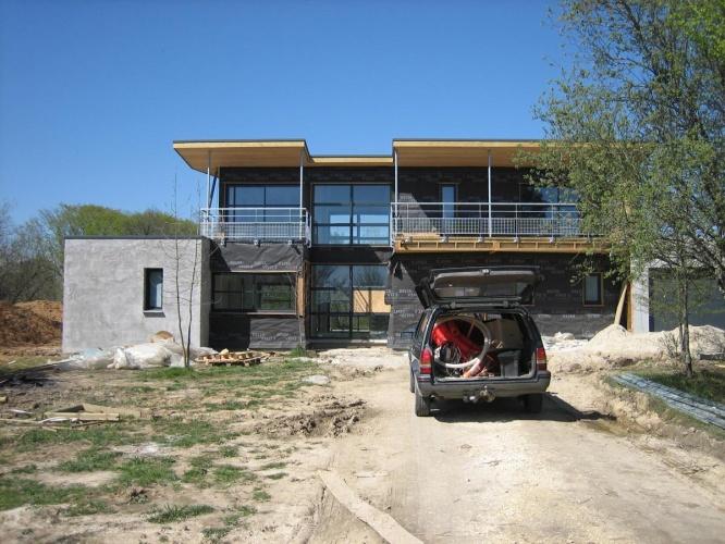 Maison bois en Entre-deux-Mers