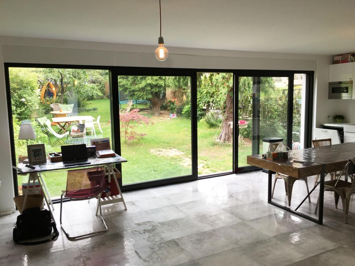 Extension et Rénovation d'une maison de ville : IMG_2102 copy